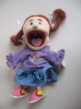 海獭手偶,鸭子手偶,树熊手偶,憨态可鞠的小熊手偶 , 活蹦乱跳的小兔子