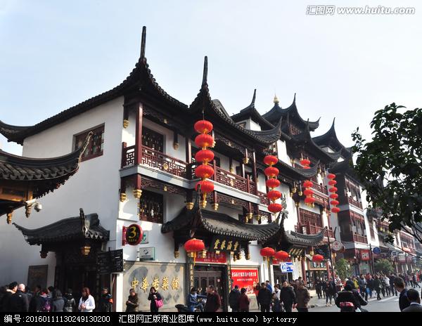上海豫园老街