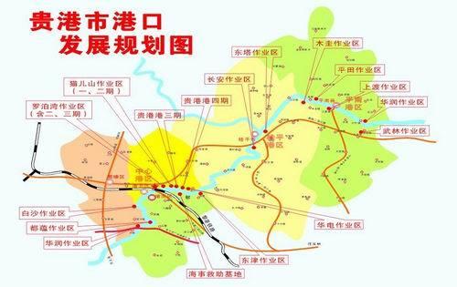 贵港地图市区地图