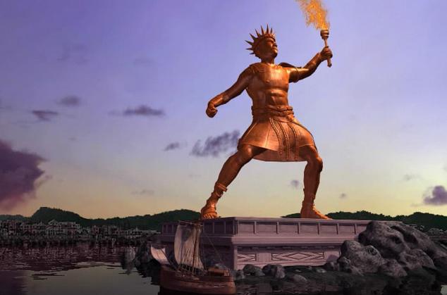 罗德岛太阳神巨像