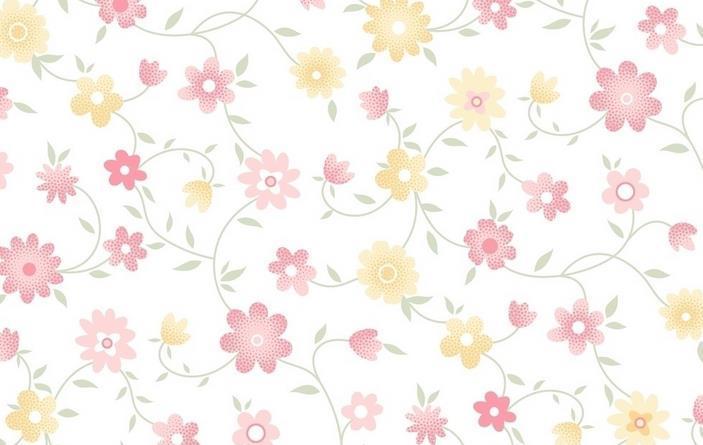 小清新碎花背景图 小清新碎花森系小清新碎花壁纸