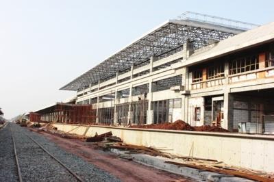 火车站站房规模设计为16642