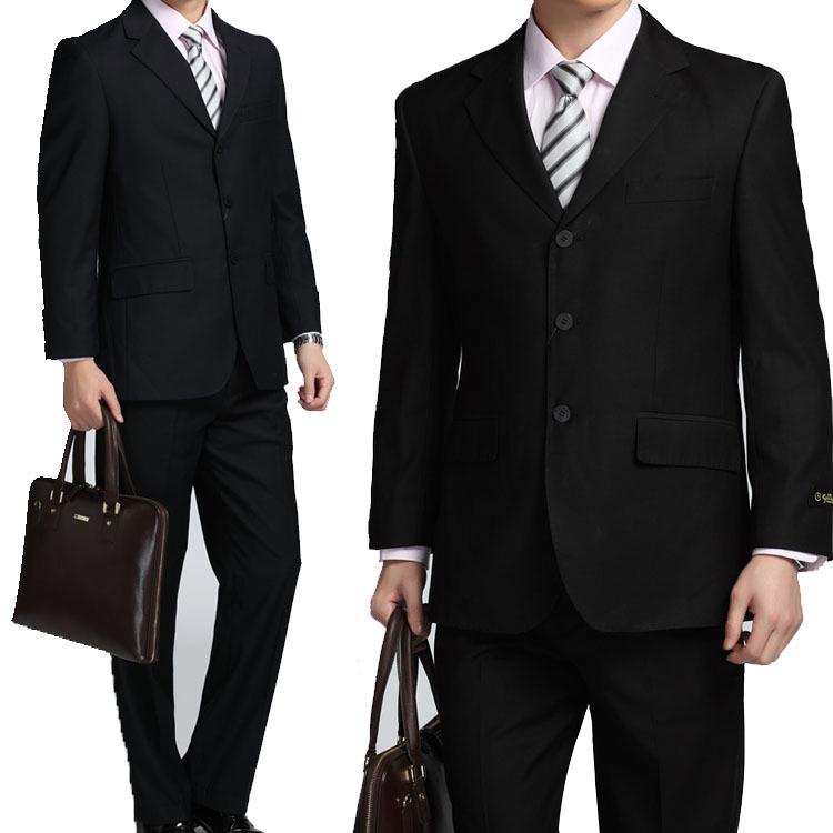 商务男式西装的搭配[3]原则西装:适合色群中稳重的