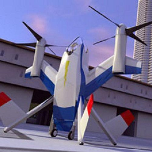单人电动隐形飞机