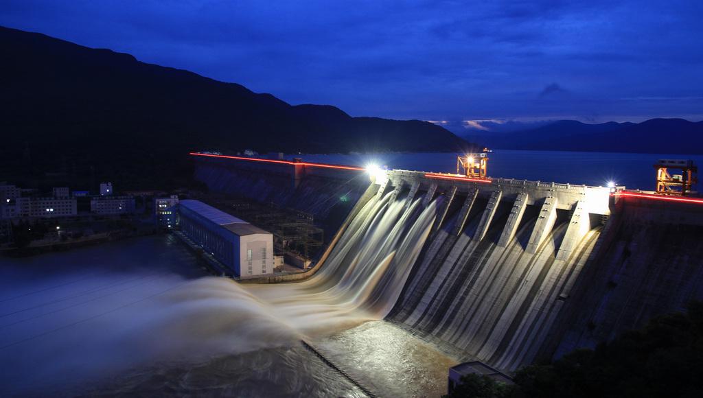 三峡白鹤滩水电站相关图片
