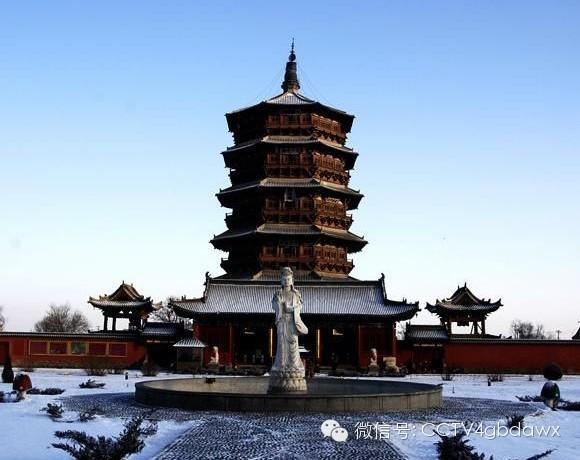 中国四大名塔
