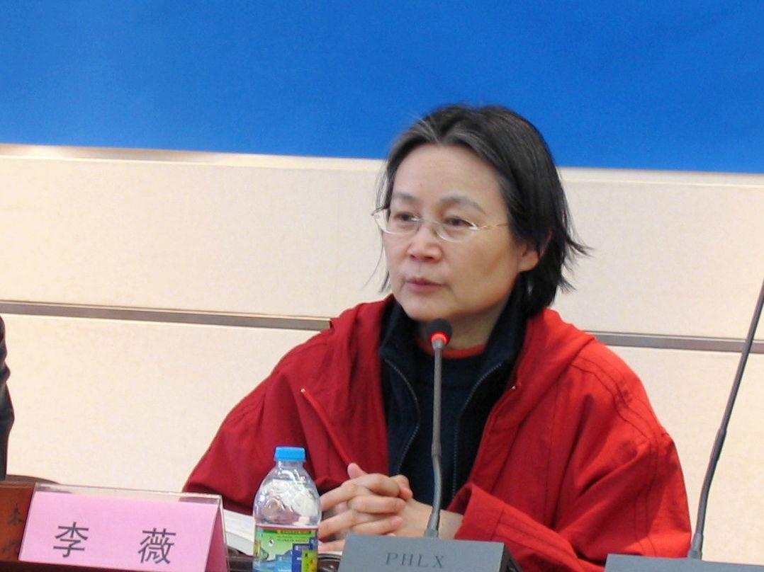 中国服装设计师李薇