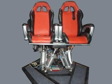 动感座椅的技术目前分为气动,液压和电动三种图片