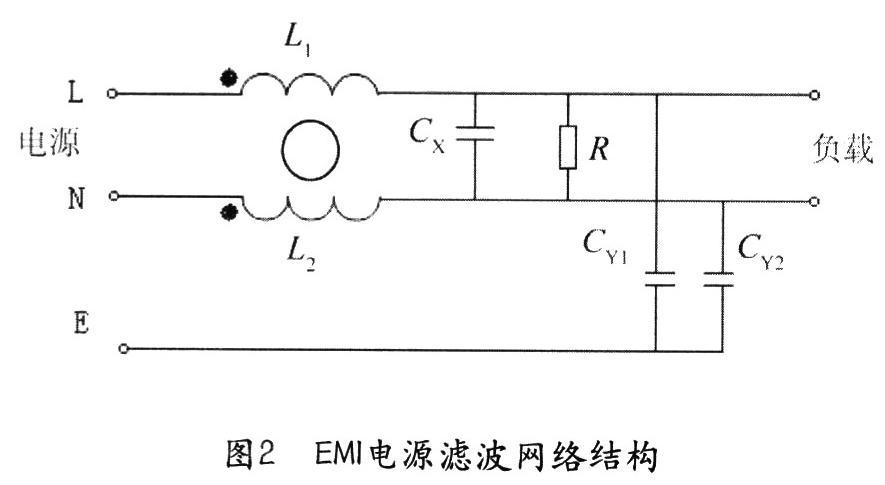 电源滤波器内部电路