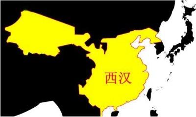(图)西汉地图
