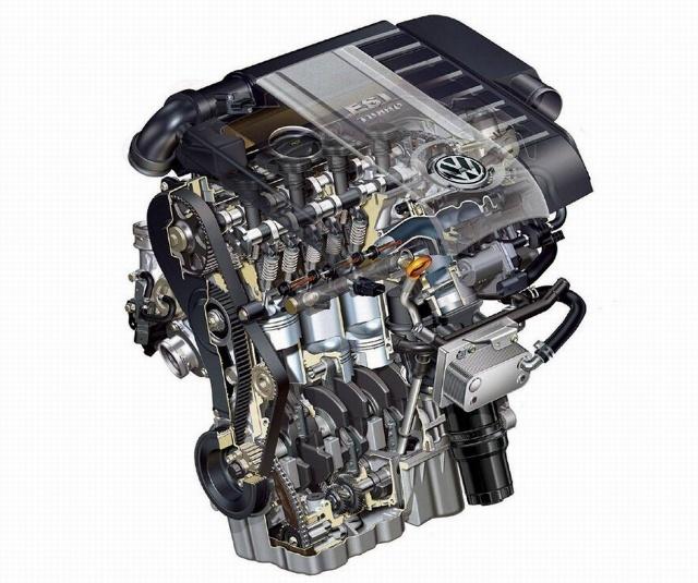 发动机内部部件名称图解