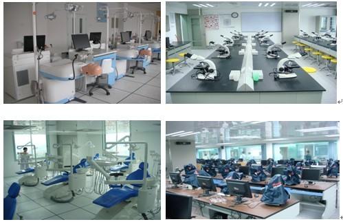 实验设施的影像数字仿真教学示范中心,口腔,检验综合技能训练实验室