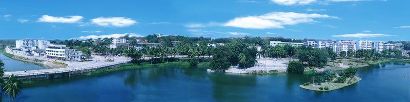 海南岛小区砂岩浮雕